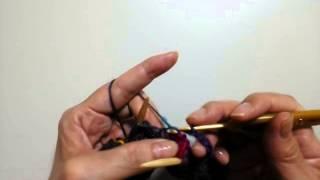 子供の帽子/模様の編み方①
