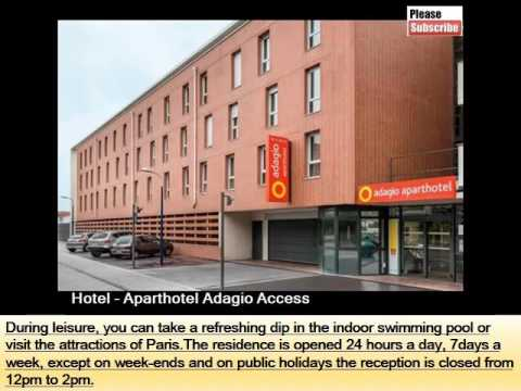 Aparthotel Adagio Access Paris Clamart | One Of The Best Hotel In Paris And Its Pictures And Info