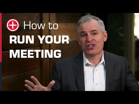 How to Run Your Meeting - Patrick Lencioni & The Table Group ...
