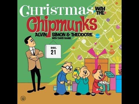 Chipmunks - The Chipmunk Song 1958 - YouTube