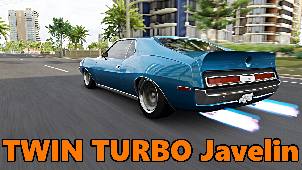 Forza Horizon Muscle Car Drift Week Amc Javelin Twin Turbo