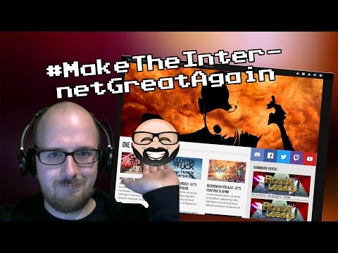 [StreamLapse] #MakeTheInternetGreatAgain - Let's Template Website   MossiLP