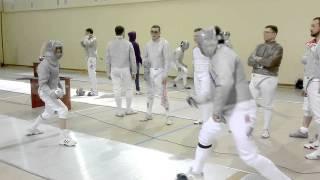 Сюжет о IV традиционном турнире по фехтованию на саблях памяти Б.Д. Дорожкова