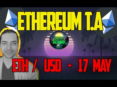Ethereum (ETH/USD) – Daily T.A with Rocky Outcrop – May 17th Technical Analysis – Wedge v Wedge