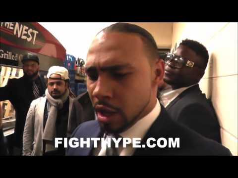 """KEITH THURMAN GOES IN ON DANNY GARCIA; VOWS TO KO """"3RD DADDY'S BOY"""""""