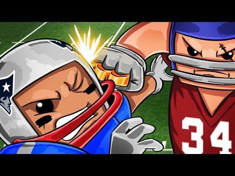 Patriots vs Jaguars - NFL PLAYOFFS! (Roblox NFL Football)