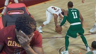 KYRIE IRVING CROSSES ISAIAH THOMAS! WOW!! NBA 2K18 MyCareer