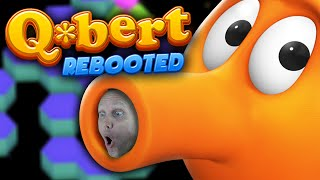 HOPPING IS HARD - Q*bert Rebooted Gameplay