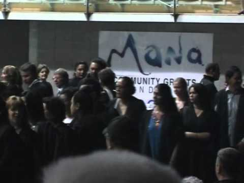 Tokelau students & Tina Sakaria's graduation.wmv