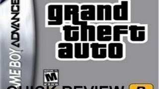 Quick Review: GTA Advance