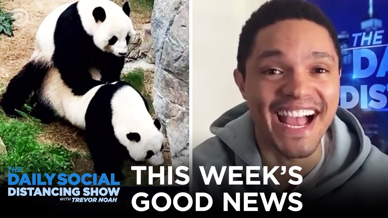 Let's Kick It Off with Some Good News | The Daily Social Distancing Show
