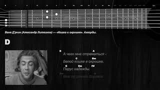 Веня Д'ркин (Александр Литвинов) — «Кошка в окрошке». Аккорды