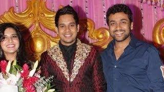 Suriya, Maniratnam and more celebs at Actor Bharath's wedding reception | Jeshly Marriage | 555