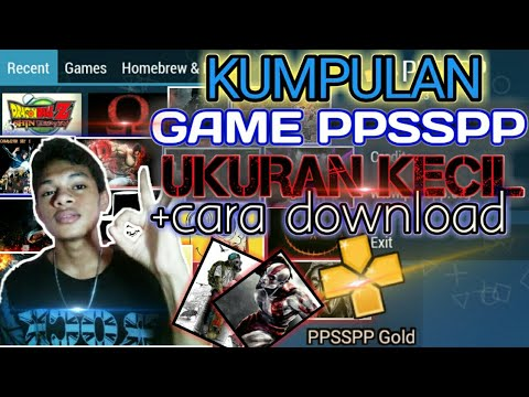 cara download game psp ukuran kecil