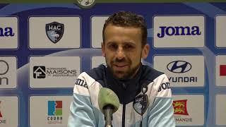 Après HAC - GFC Ajaccio (2-2), réaction d'Alexandre Bonnet