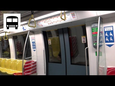 SMRT Trains C830C Shanghai Electric/Alstom Metropolis - Mountbatten to Stadium (Circle MRT Line)