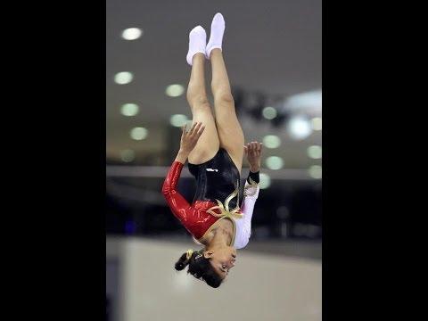 Bronze Medalist - Ashraqt Sherief (Final) Egypt - Trampoline Arab Games 2011