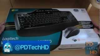 Video Logitech Wireless Desktop MK 710 Unboxing & First Look! download MP3, MP4, WEBM, AVI, FLV April 2018