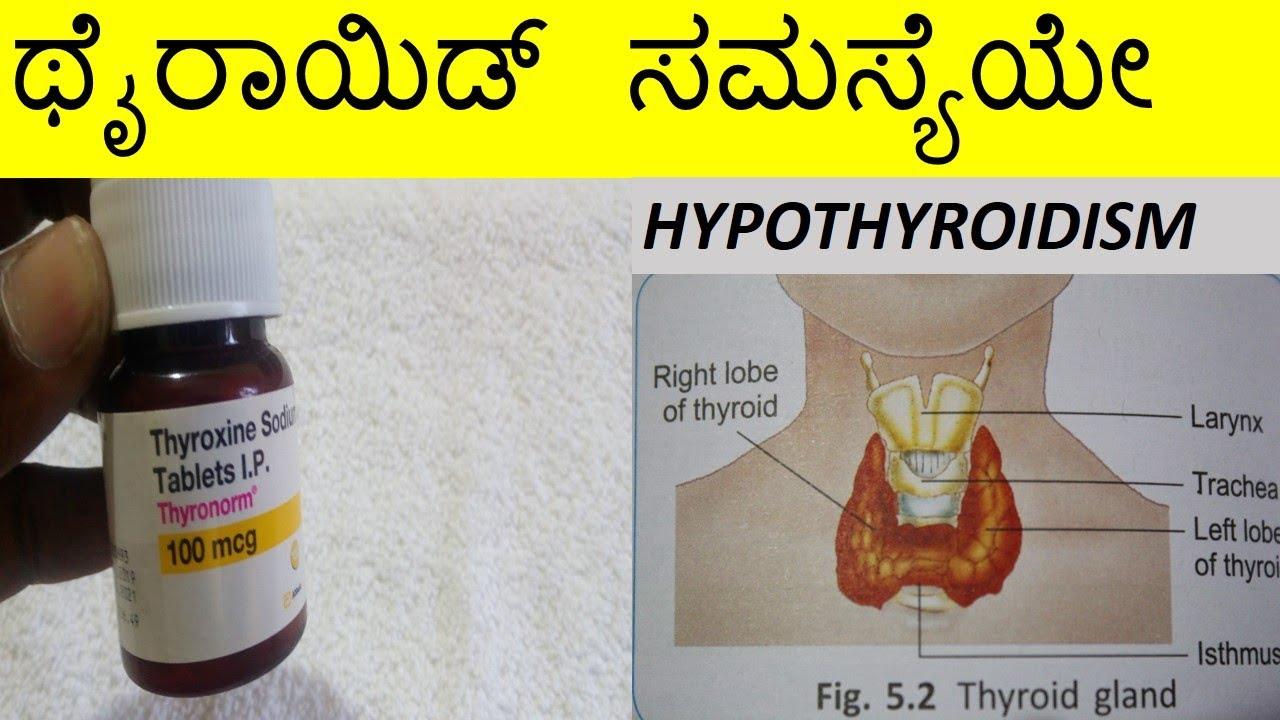 Thyronorm 100 Review In Kannada ಥ ರ ಯ ಡ