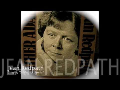 """Sir Patrick Spens"" - Jean Redpath"