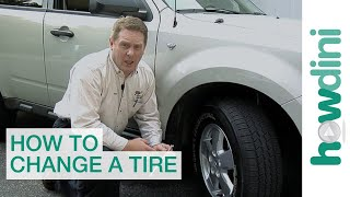 How to Change a Tire | Change a flat car tire step by step