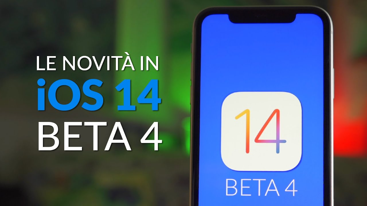 iOS 14 Beta 4 | Cosa c'è di nuovo ?