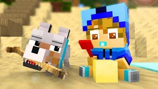 Wolf Life 7 - Craftronix Minecraft Animation thumbnail