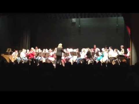 KIngsway Regional Middle School Holiday concert 2014. Silver Bells