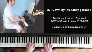 B:3 Down by the salley gardens (ABRSM Grade 1 piano 2021-2022)