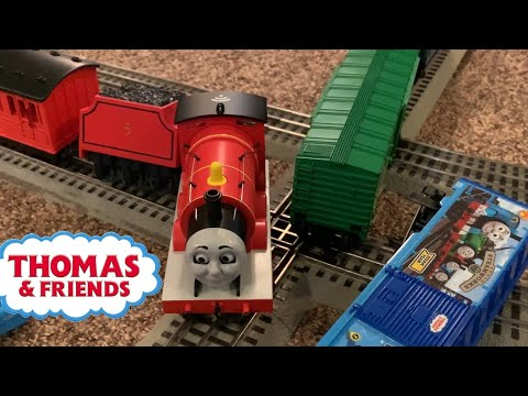 Long Lionel Trains with James and Thomas plus Percy