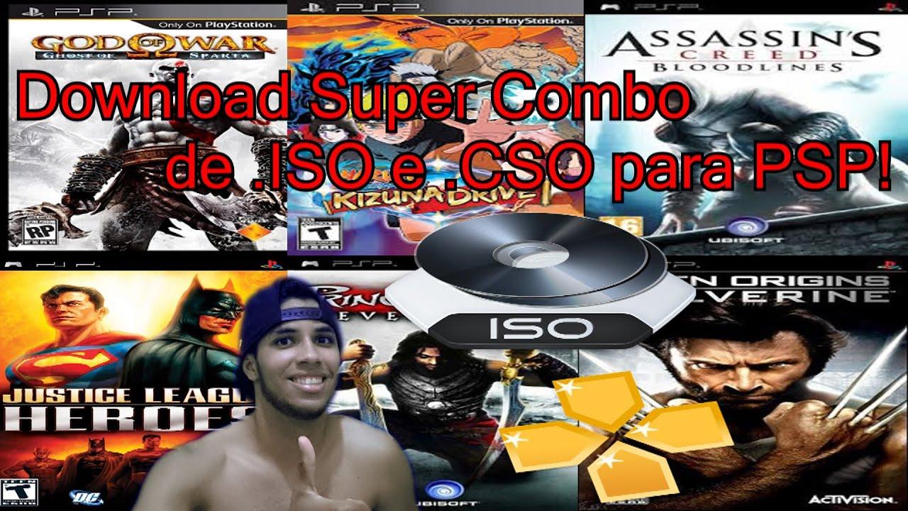 FORMATO BAIXAR PARA PSP CSO EM JOGOS