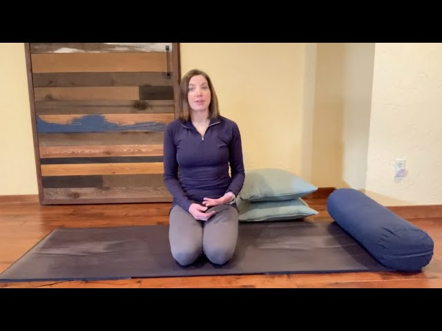 Open Your Heart with Supported Fish Pose