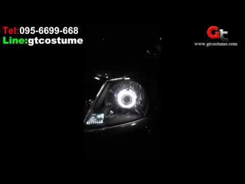 แต่งรถ Hilux Vigo แต่งไฟ Projector Xenon Tel. 095-669966-8 // 096-550-5504