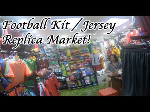 Football Kit Fake Market Replica Jerseys MLB, NBA, NHL, NFL Guangzhou China