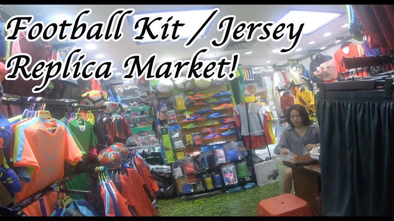 Football Kit Fake Market Replica Jerseys MLB, NBA, NHL, NFL Guangzhou China