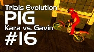 Gavin faces off against Kara in today's episode of Trials Evolution...