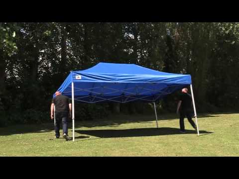 Surf turf instant shelters 6m x 3m heavy duty steel b for Gazebo plegable easy
