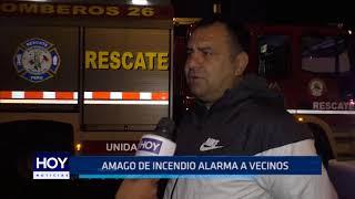 Víctor Larco: Amago de incendio alarma a vecinos