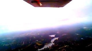 Flying over Columbia South Carolina