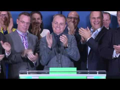 TSX Venture Exchange opens Toronto Stock Exchange, September 22, 2016