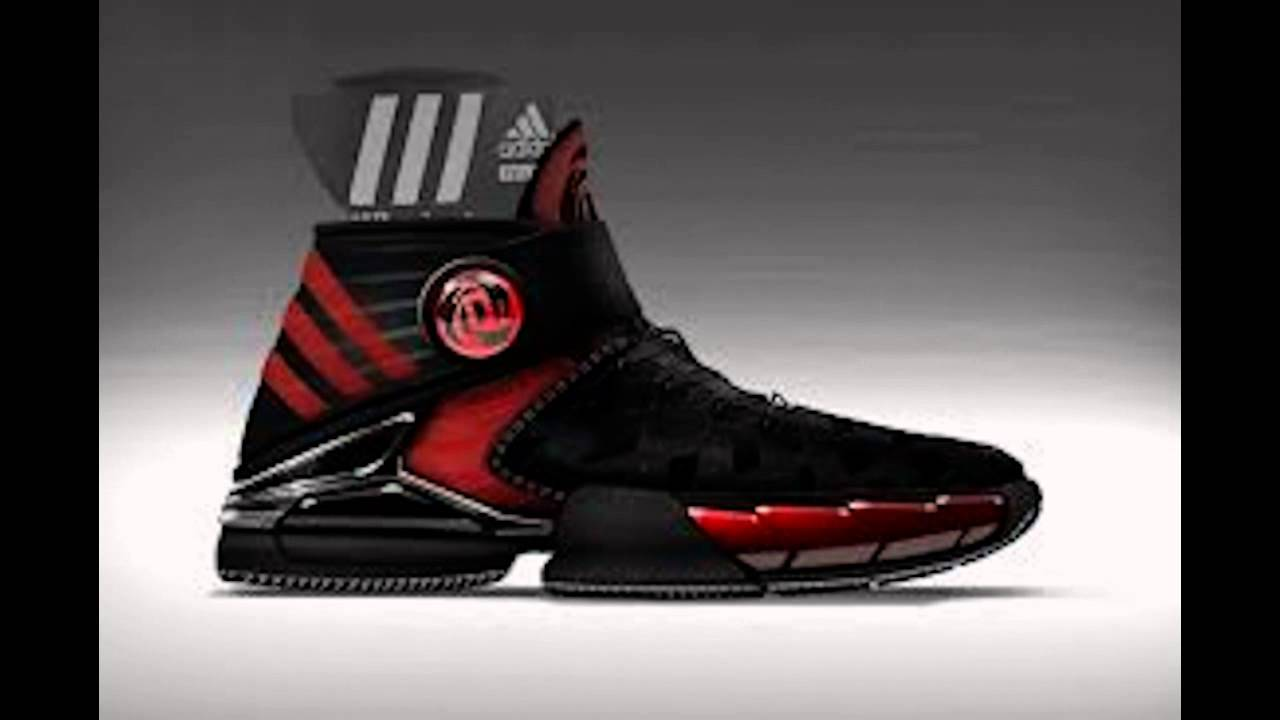 2633354fbae8 D Rose 4.0 First Look - Basketball shoe - colour ways - AdiZero 4 - YouTube