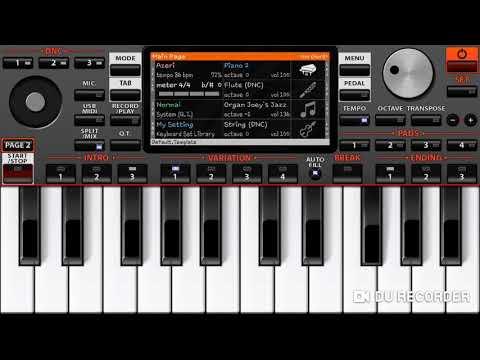 Yandirdin Qelbimi Aman (piano ORG)