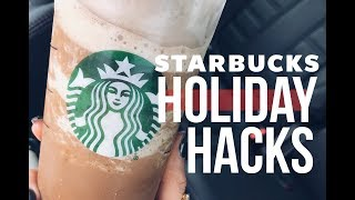 Starbucks Holiday Drink Hacks