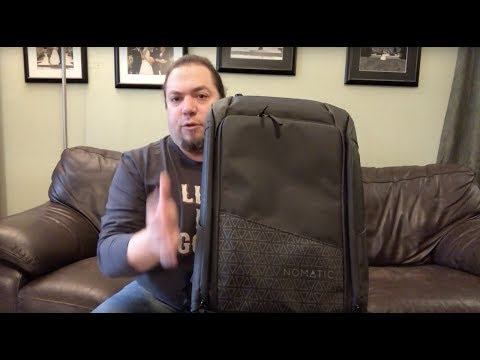 Unboxing the Nomatic Travel Pack