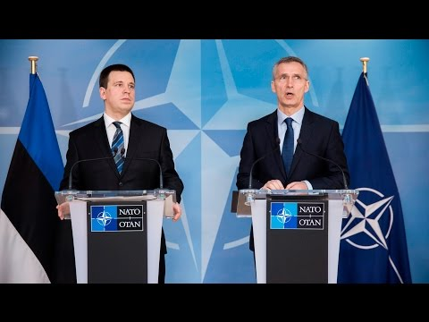 NATO Secretary General with the Prime Minister of Estonia, 09 MAR 2017