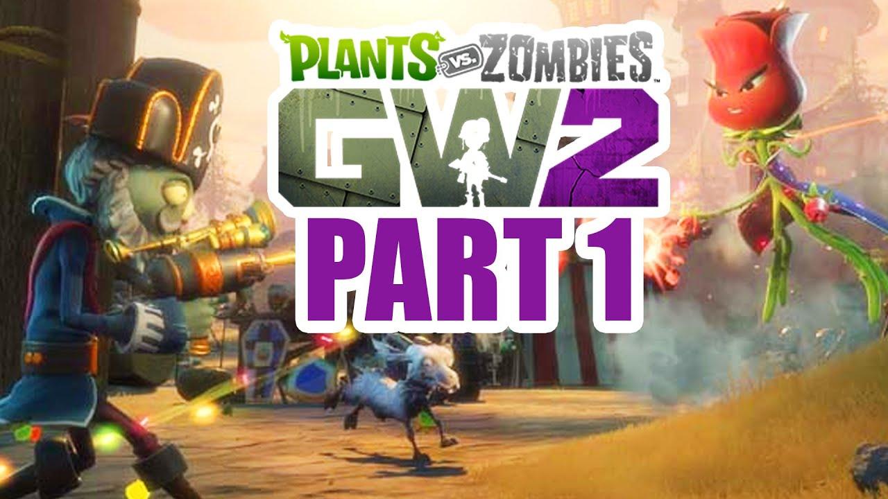 Plants Vs Zombies Garden Warfare 2 Gameplay Walkthrough Part 1 The Beta Pvz Garden Warfare 2