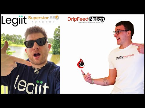 Legiit's SEO Industry Leader Chris M Walker Shout outs Dripfeed Nation LIVE