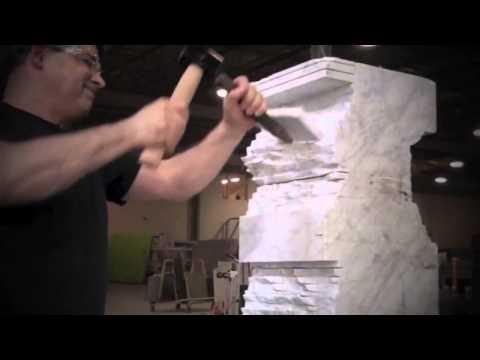Красивое видео о работе скульптора.
