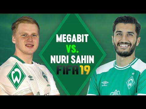 MegaBit vs. Nuri Sahin FIFA 19 Match | SV Werder Bremen