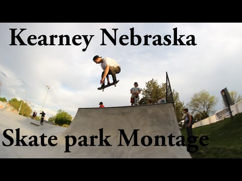 Kearney Skate park Montage